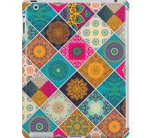 Buntes Bohemian Mandala Patchwork Design iPad Case/Skin