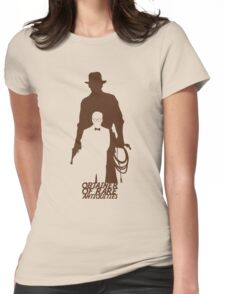 Obtainer of Rare Antiquities Womens Fitted T-Shirt