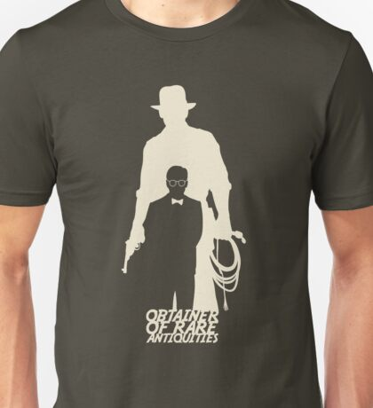 Obtainer of Rare Antiquities (light) Unisex T-Shirt