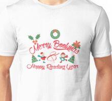 Merry Bookmas Unisex T-Shirt