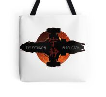 Everything's Shiny Cap'n Tote Bag