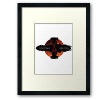 Everything's Shiny Cap'n Framed Print