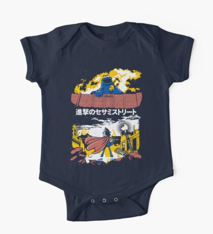Attack on S. Street One Piece - Short Sleeve