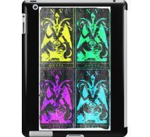 Pop Art Devil Tarot iPad Case/Skin