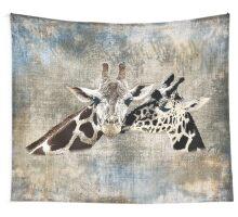 Snuggle Bug Giraffe Wall Tapestry