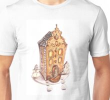Colorful gingerbread house Unisex T-Shirt