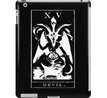 Devil Tarot XV iPad Case/Skin