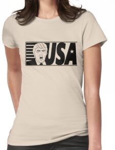 TRUMP SHOUT USA  Womens Fitted T-Shirt