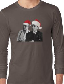 Merry Christmas - The Kray Twins Long Sleeve T-Shirt