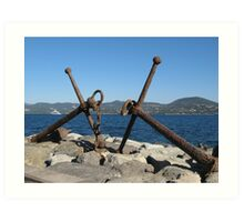 anchor...8000 visualizzaz. settember 2014  - FEATURED RB EXPLORE 28 FEBBRAIO 2012 ---- Art Print