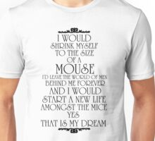 Gilderoy The Mouse Prince Unisex T-Shirt