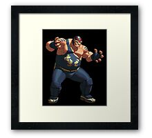 Big Bear Framed Print