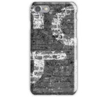 Worn Brick Wall BW 3 iPhone Case/Skin
