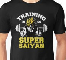 training to go super saiyan 2  Unisex T-Shirt