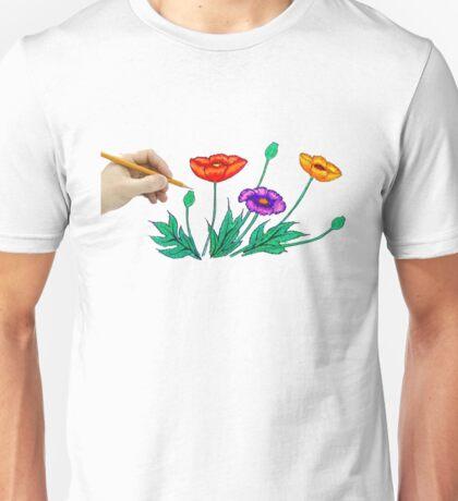 hand paint Unisex T-Shirt