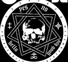Ouija Sticker by Imago-Mortis