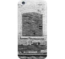 Old Brick Wall 3 BW iPhone Case/Skin