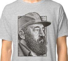 Fidel Wood Carved Classic T-Shirt