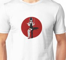 The Red Pin Up Teacher Unisex T-Shirt