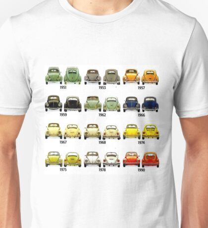 Beetle Time line Unisex T-Shirt