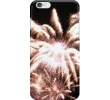 Flower fireworks iPhone Case/Skin