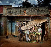 Uganda: The Butcher Shop by Ted Byrne