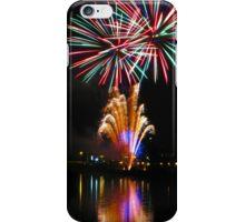 Bursting fireworks iPhone Case/Skin