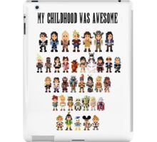 My childhood was awesome iPad Case/Skin