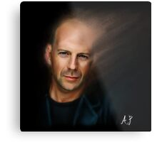Bruce Willis Metal Print