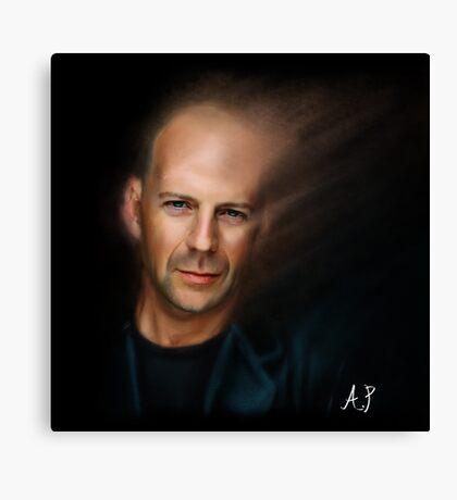 Bruce Willis Canvas Print