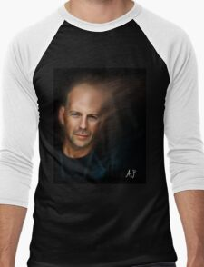 Bruce Willis Men's Baseball ¾ T-Shirt