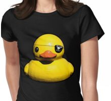 Buc Duck Womens Fitted T-Shirt