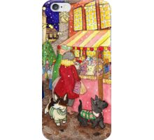 Christmas Market Friends iPhone Case/Skin