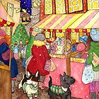 Christmas Market Friends by LiseRichardson