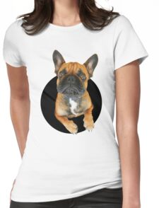 Chop round plop Womens Fitted T-Shirt