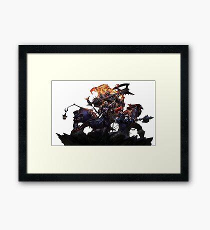 Pentakill Framed Print
