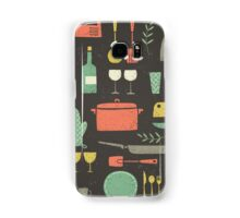 Love Your Kitchen. Retro Edition Samsung Galaxy Case/Skin