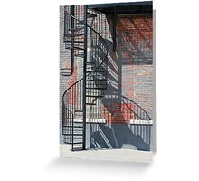 Sculptural Architecture 3 Greeting Card