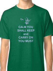 yoda keep calm Classic T-Shirt