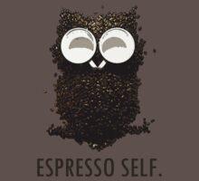 Espresso Self w/ text Kids Clothes