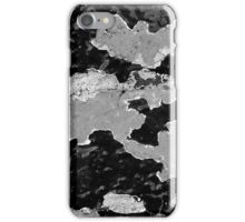Brick Abstract 2 BW iPhone Case/Skin