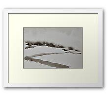 I Wish I Had A River II Framed Print