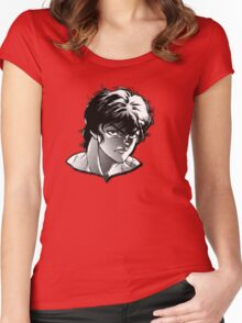 baki anime Women's Fitted Scoop T-Shirt