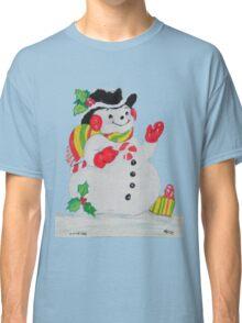 Let it SNOW man Classic T-Shirt