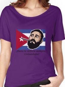 Fidel Castro Cuba Women's Relaxed Fit T-Shirt
