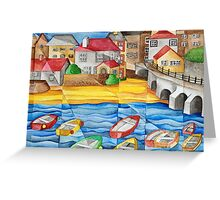 Higgelty Harbour Greeting Card