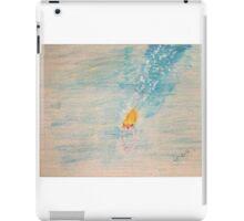 Diving into sea iPad Case/Skin