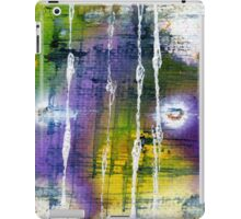 Green and purple abstract iPad Case/Skin