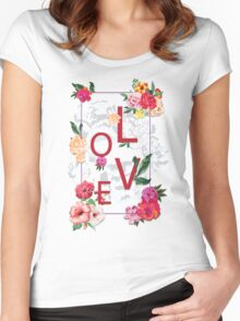 Love space Women's Fitted Scoop T-Shirt