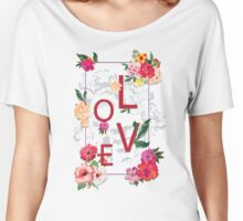 Love space Women's Relaxed Fit T-Shirt